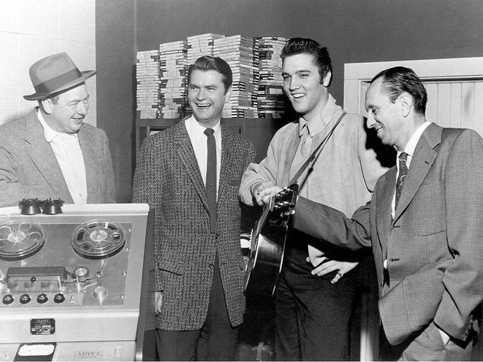 MDQ December 4, 1956. Elvis Presley, Sam