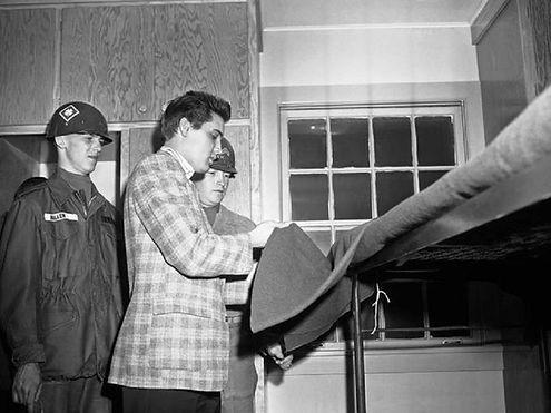 Fort Chaffee, Arkansas March 25, 1958.