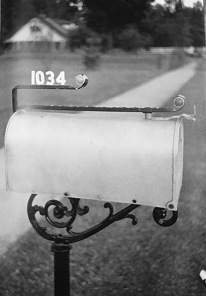 1034 Audubon Drive, Memphis, Tn. Wertheimer July 4, 1956. A Wertheimer