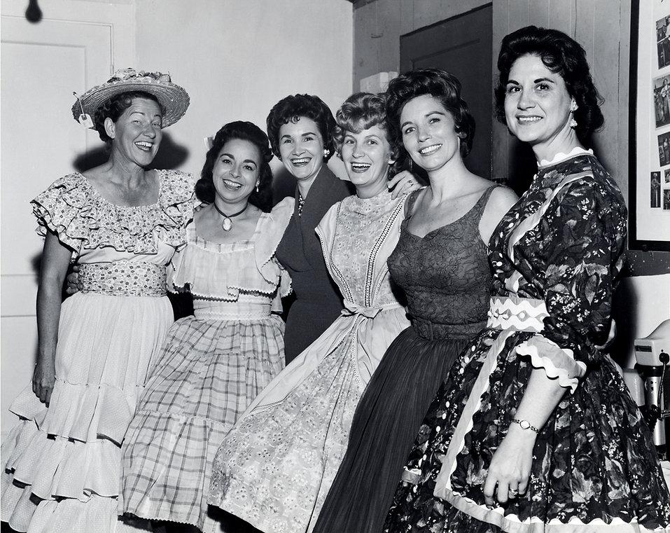 Wilma Lee Cooper - second from left - ba