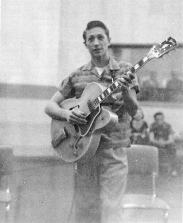 September 2, 1956, Sunday. Scotty Moore