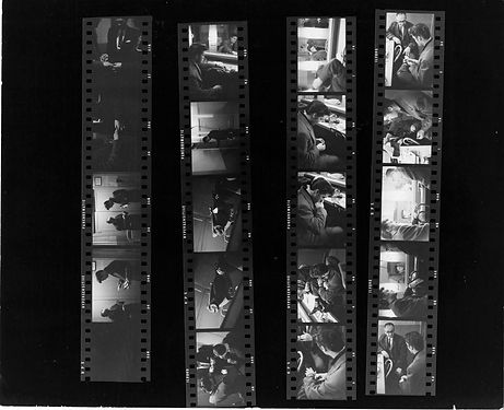 Dorsey Bros. Stage Show contact sheets b