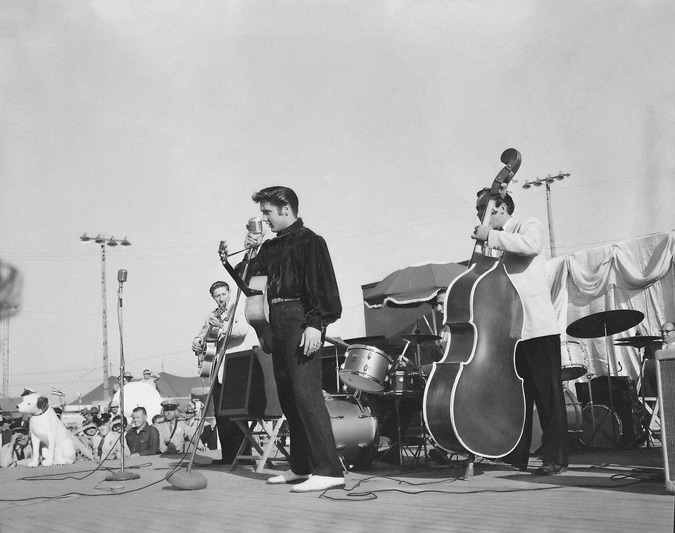 Tupelo fairgrounds. September 26, 1956. Courtesy Erik Lorentzen