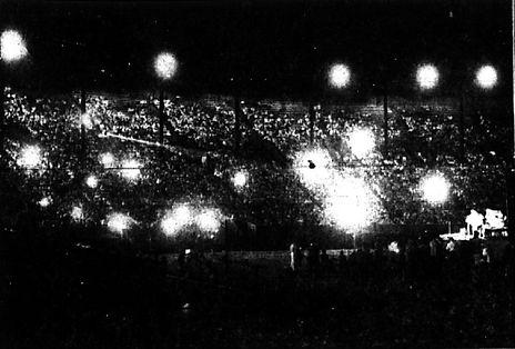 Portland Oregon, Multnomah Stadion Septe