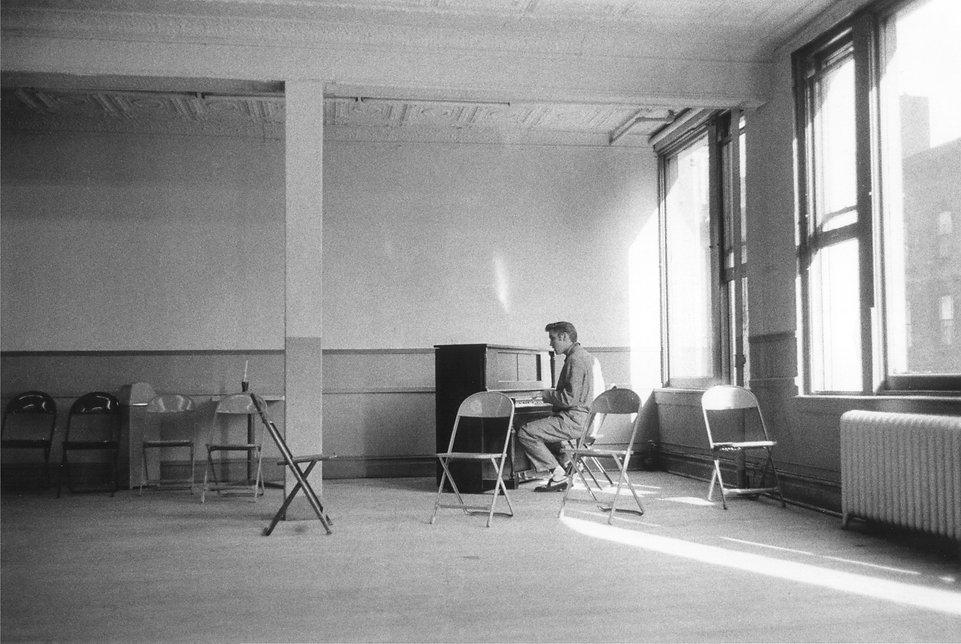 A Wertheimer Steve Allen rehearsals NY,