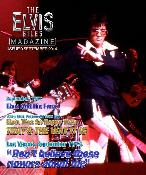 The Elvis Files magazine issue 09