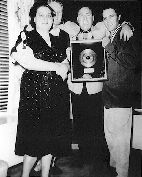 Audubon Drive April 1956. Elvis, Gladys