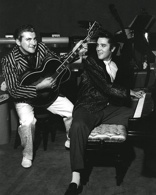 Elvis and Liberace November 1956 Las Veg