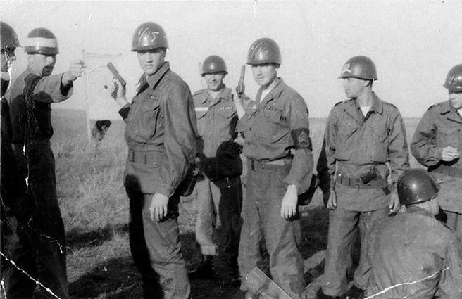 Fort Hood, Texas. 1958.