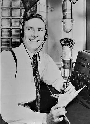 Dewey Phillips prominent WHBQ Deejay.