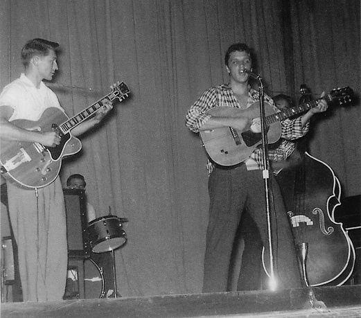 September 2 1955, Municipal Auditorium in Texarkana, AR.