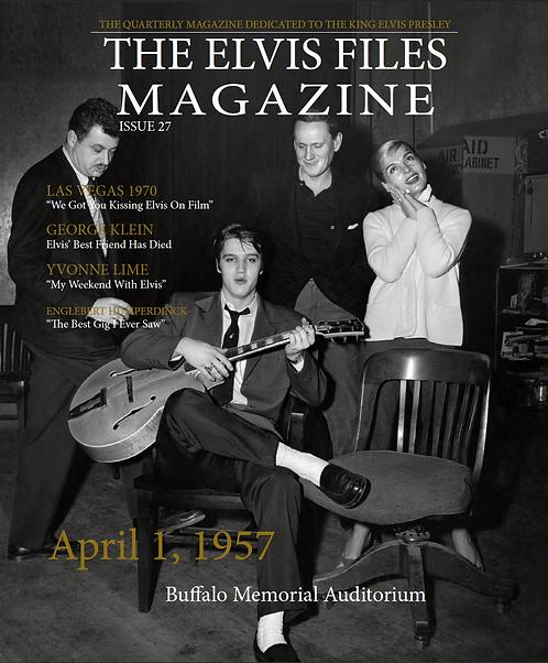The Elvis Files magazine issue 27