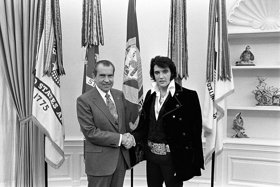 President Richard Nixon Meets with Elvis.