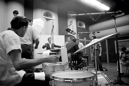 Recording session for Hound Dog, Don't B