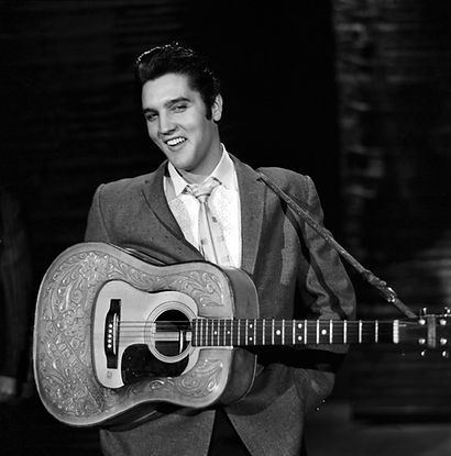 Elvis Presley during his second appearan