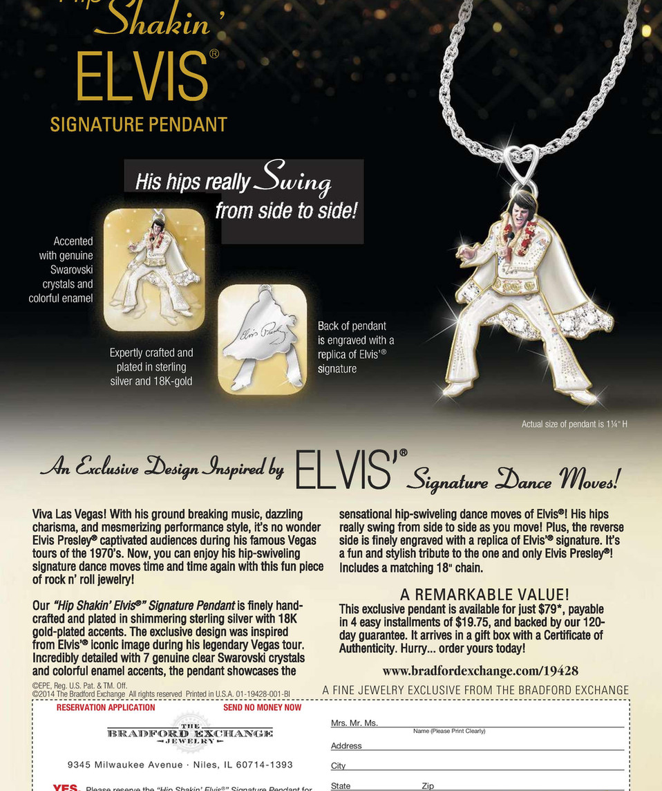 Enquirer Collector's issue - Elvis 80th