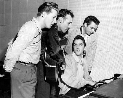 December 4, 1956. SUN Studio Memphis, Tn