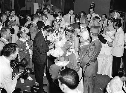 Ellis Auditorium North Hall, Memphis Tn., May 15, 1956.