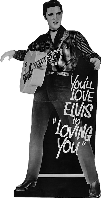 Loving You collectible life size stand t