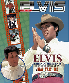 The Elvis files double feature book: Behind the scenes of Speedway / Stay Away, Joe