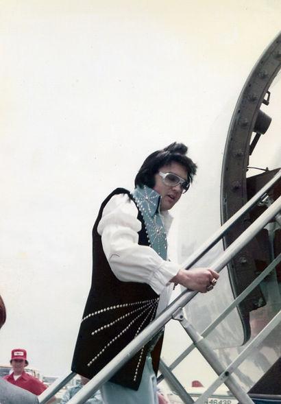 Elvis Presley At Philadelphia Internatio