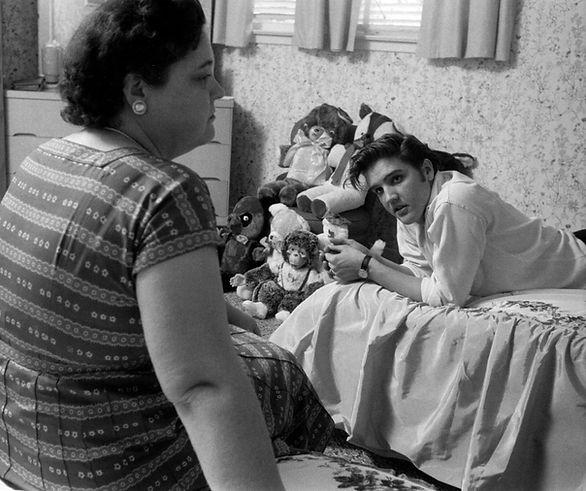Elvis and Gladys. May 29 1956 1034 Audub