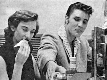 Elvis and Jimmy Magazine Sept., 1956.Rob
