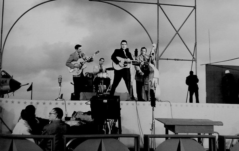 Milton Berle Show April 3, 1956. San Die