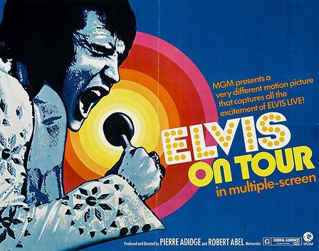 On Tour USA poster 1972.