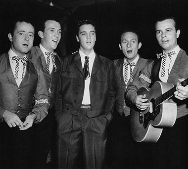King Creole set with The Jordanaires. PP