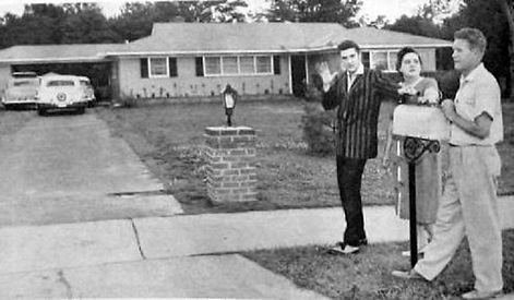 1034 Audubon drive Memphis, Tn. March-April, 1956.