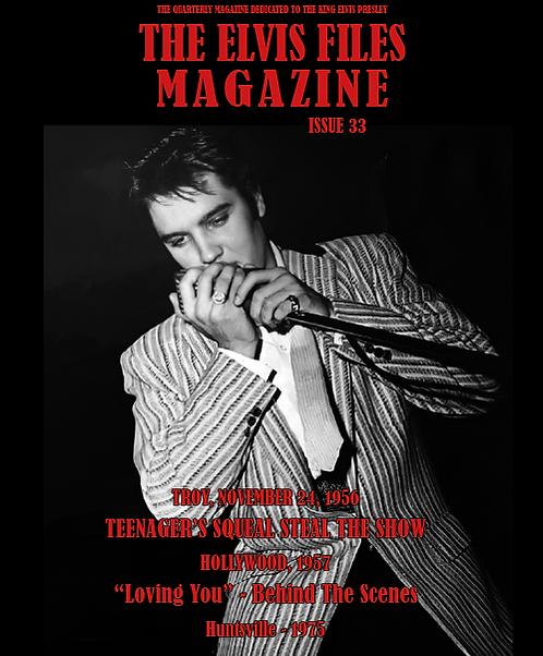 The Elvis Files magazine issue 33