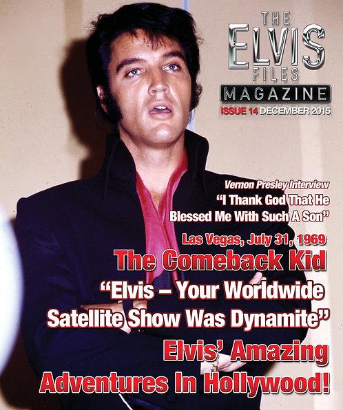 The Elvis Files magazine issue 14