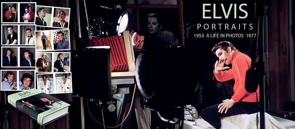 ELVIS PORTRAITS 1953-1977 by Erik Lorentzen