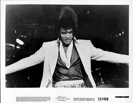 Elvis On Tour MGM 8x10 1972