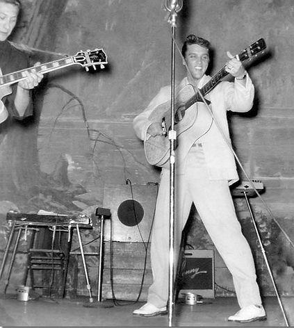 Louisiana Hayride 2nd appearance October, 26 1954
