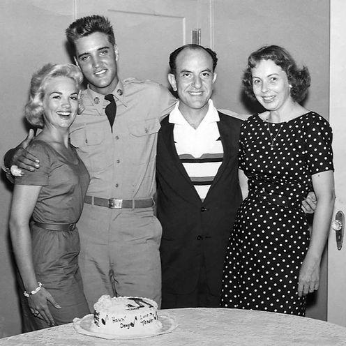 Elvis, Anita Wood, Eddie and LaNelle Fad
