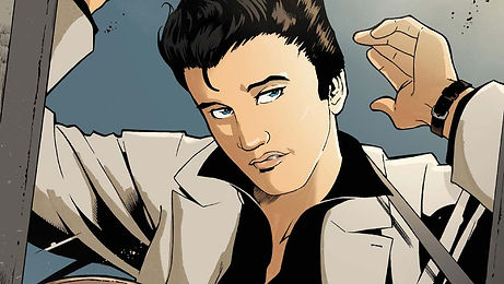 Elvis. The Official Graphic Novel by Z2