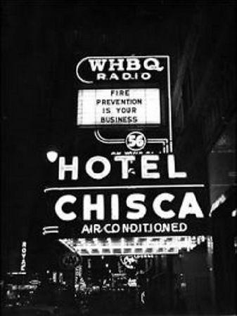 Hotel Chisca home of WHBQ Radio