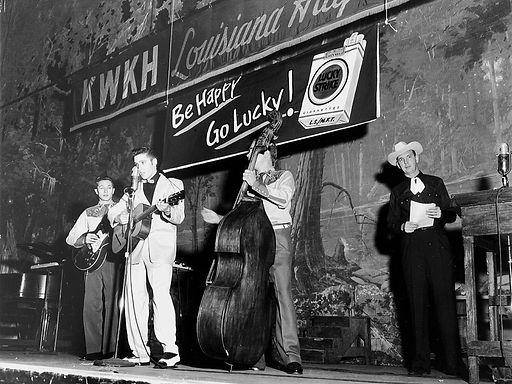Louisiana Hayride debut. October 16, 195