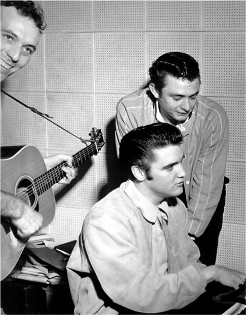 December 4, 1956. SUN Studio Memphis, Tn.