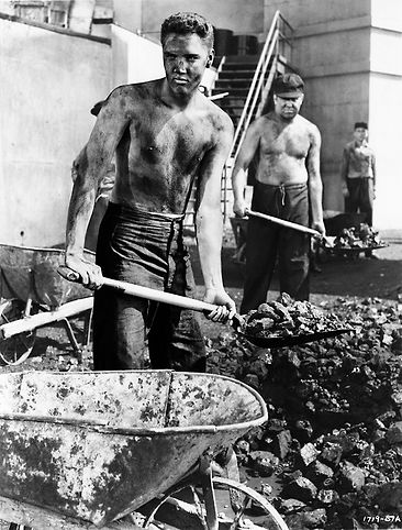 #3 - Jailhouse Rock scene still Coal Yard June 3, 1957.