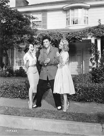 #3 - Jailhouse Rock MGM movie lot between scenes with Jennifer and Judy.