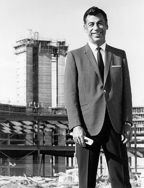 Kirk Kerkorian Hotel International 1969.
