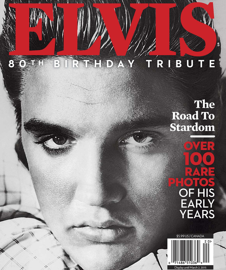 Enquirer Collector's issue - Elvis 80th Birthday Tribute