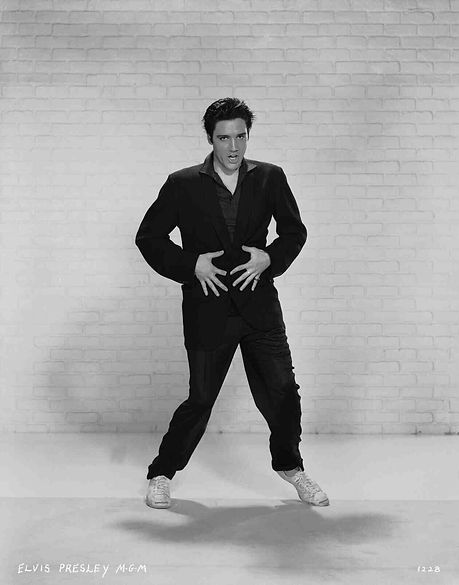 Jailhouse Rock publicity photo still.