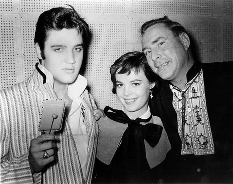 Hotel Chisca, October 31, 1956. Elvis, Natalie Wood and Dewey Phillips