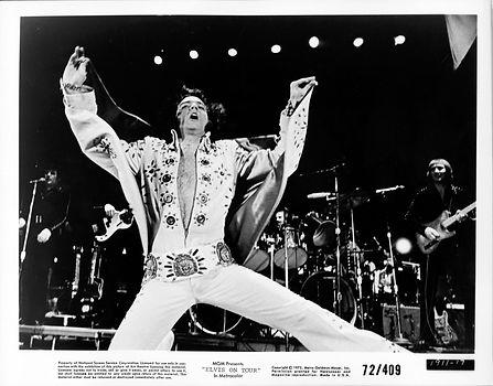 Elvis On Tour MGM 8x10 1972.