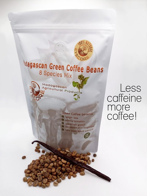 Green Coffee Beans 8 Species Mix