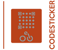 Welche Botschaft verbirgt sich hinter dem BikeCode-Aufkleber